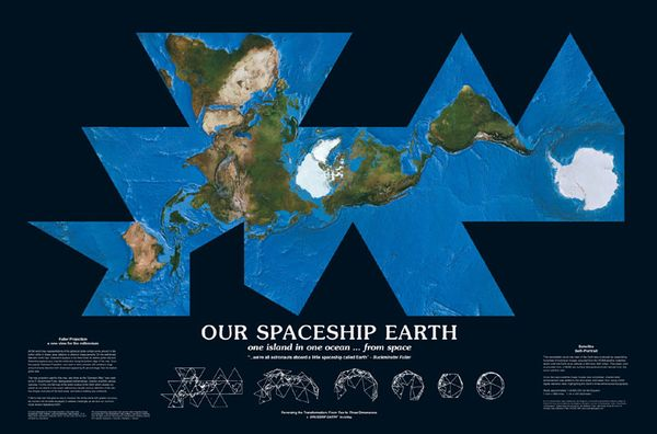 BuckminsterFuller_Earthmap